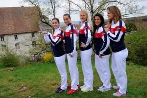 LA FED CUP 2013 : Groupe Mondial II et World Group Play-OFF - Page 9 Marion13
