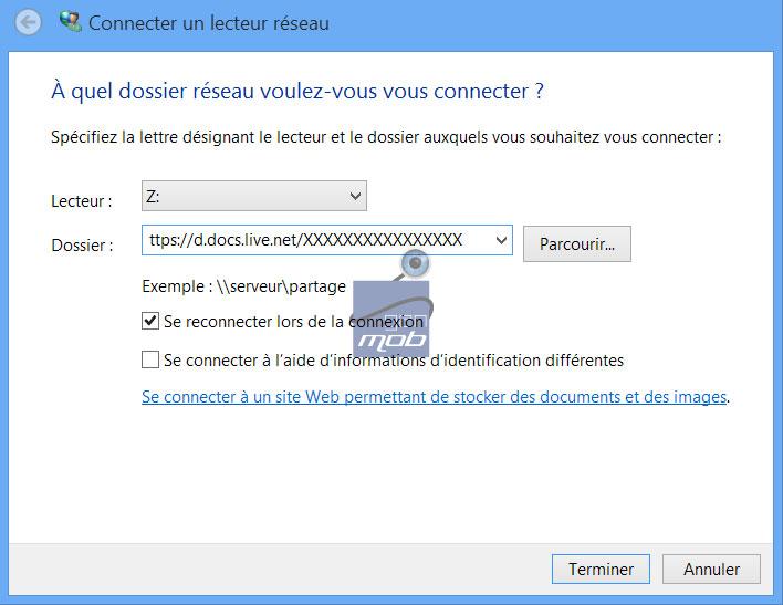 [TUTO] Utiliser Skydrive comme lecteur de disque Sky0510