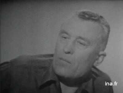 TRINQUIER Roger - Colonel - 1963-1965 1er président Union Nationale des Parachutistes Trinqu11
