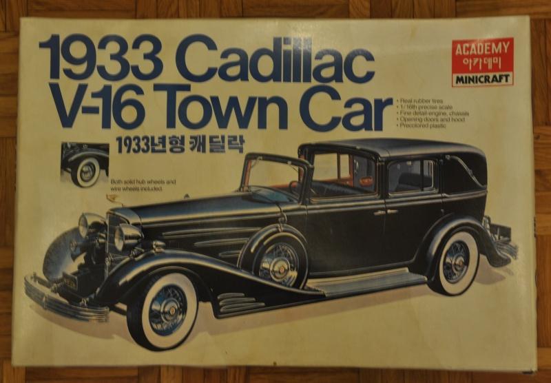 Maquette rare cadillac Vtown car 1/16 Academy Dsc_0010