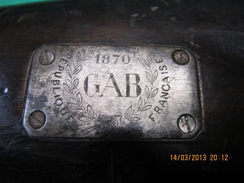 Les armes règlementaires à poudre noire à cartouches Img_2721