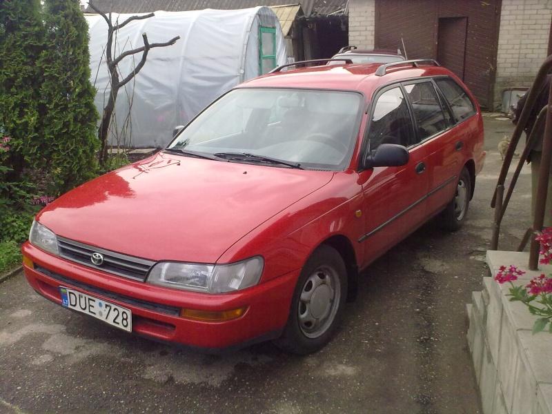 My 95' Red Corolla 20110511