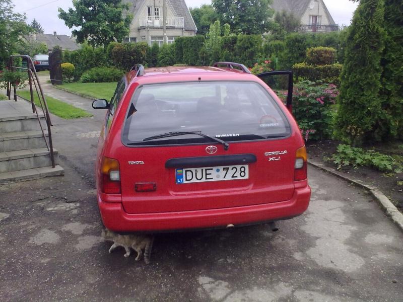My 95' Red Corolla 20110512