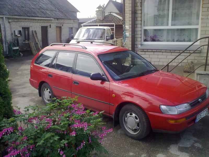 My 95' Red Corolla 20110513