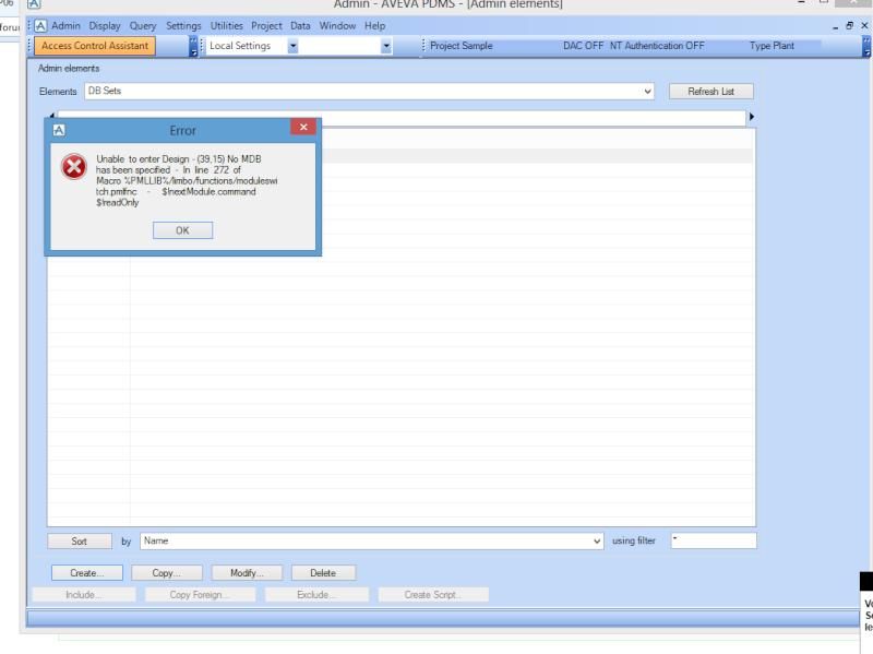 [Résolu]FREE user sur PDMS 12 SP06 Captur10