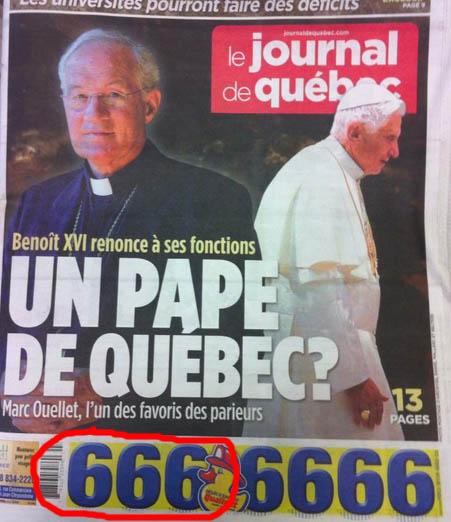"""""""Priez pour moi afin que je ne me dérobe pas, par peur, devant les loups,"""" - Benoît XVI ! Hasard10"""