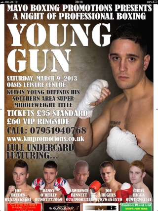 Mayo Boxing Promotions, Oasis Leisure Centre Swindon 47019_11