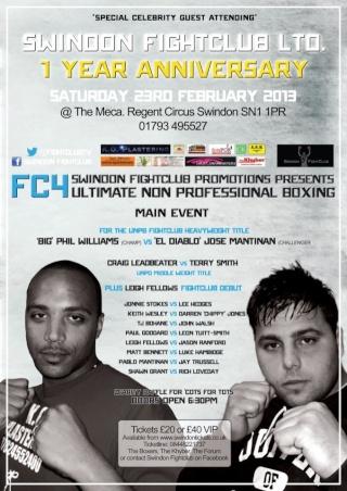 Unlicensed Fightclub Round 4, Swindon 53549212