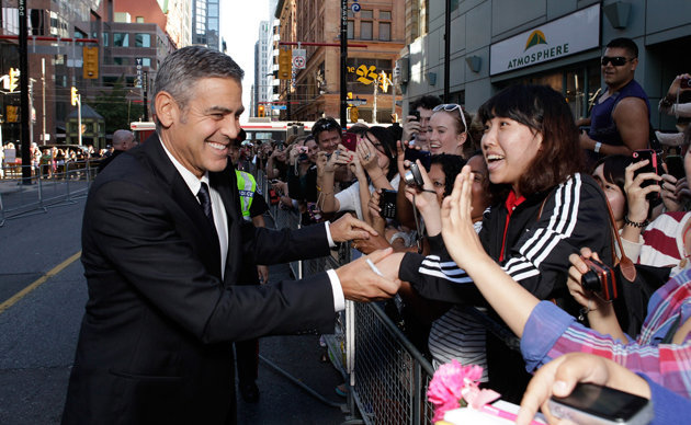 Where's George? Clooney Opts Out of Attending TIFF 13 2011-t10