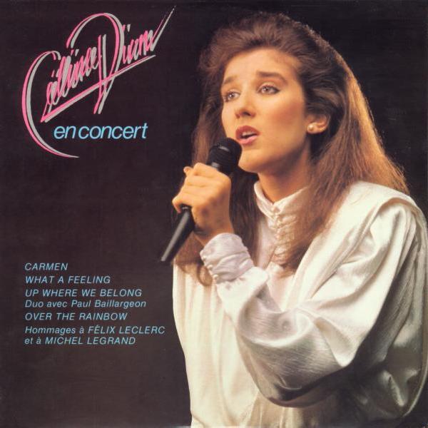 1985 - Céline Dion en concert A01110