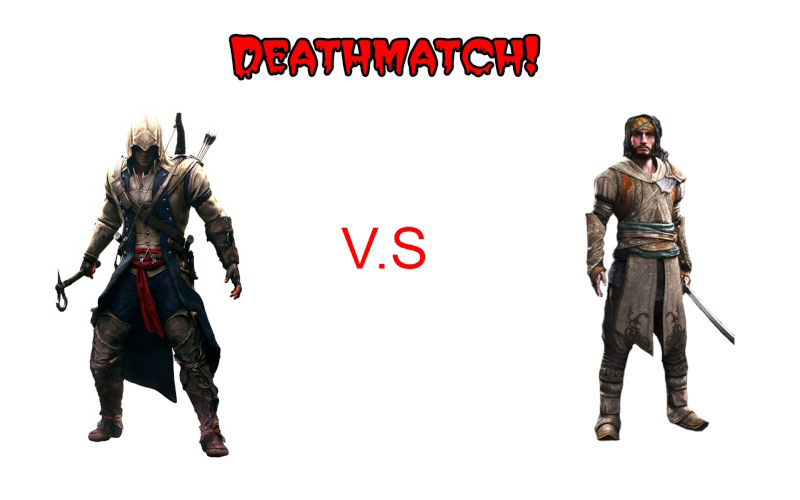 Batalha entre personagens do AC Connor10