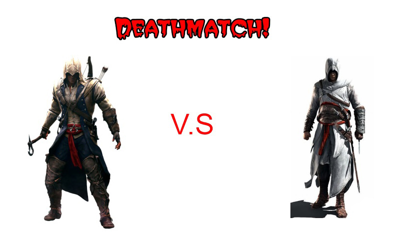 Batalha entre personagens do AC Connor11