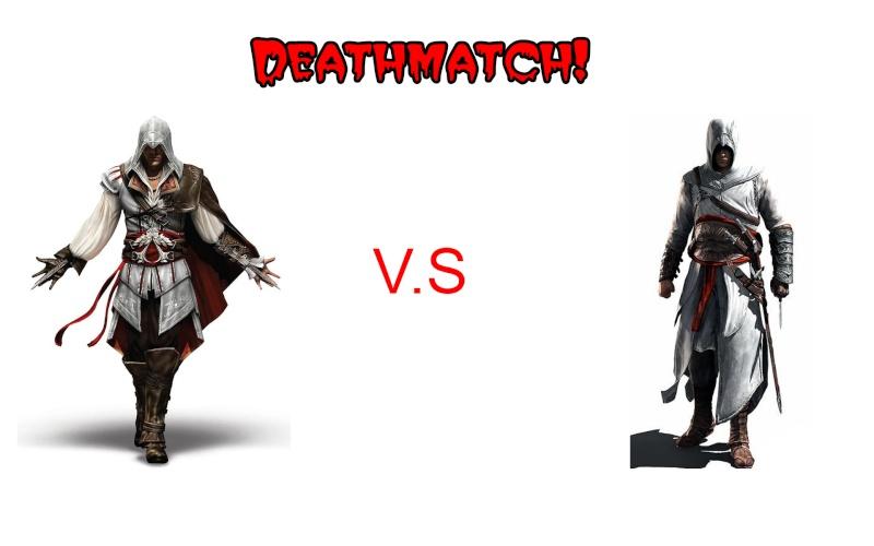 Batalha entre personagens do AC Deathm10