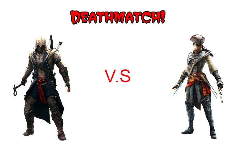 Batalha entre personagens do AC Deathm11