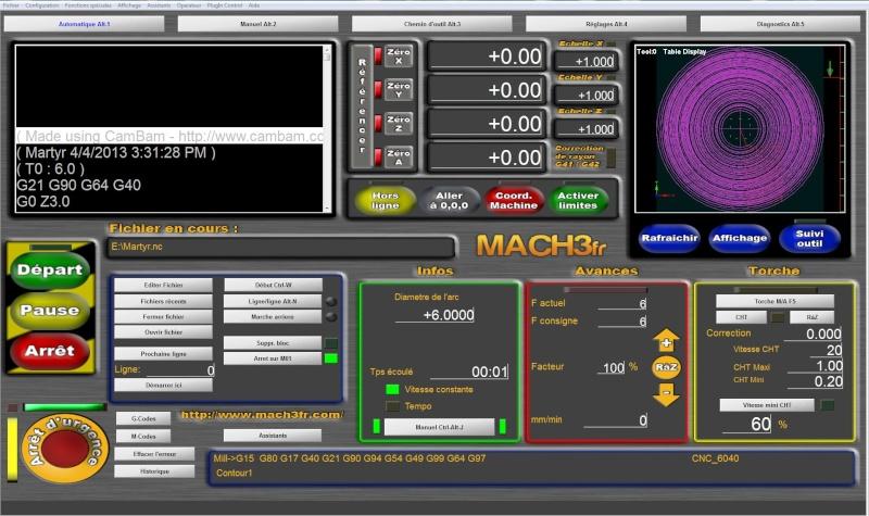 Problème au chargement d'un fichier Cambam dans Mach3 Mach312