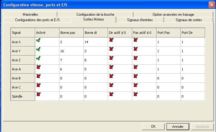 Demarrage CNC 6040 Sortie10