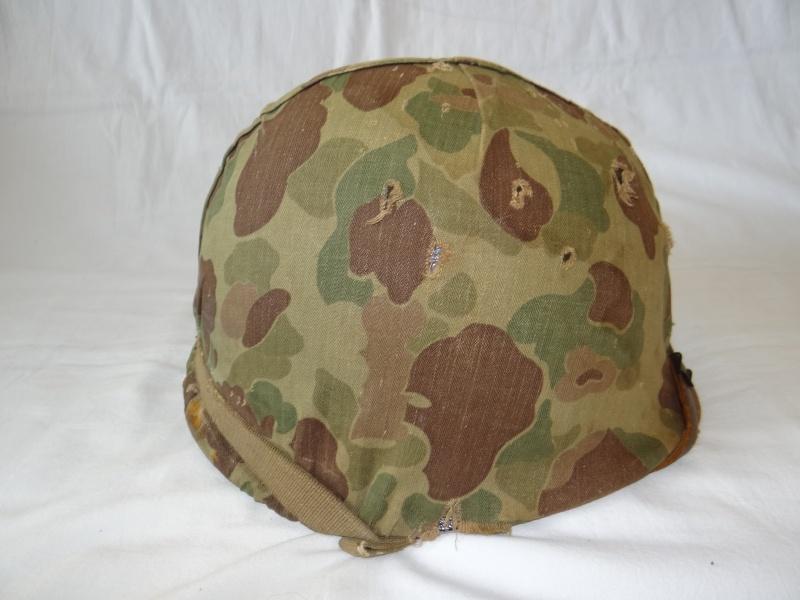 Casque M1 USMC Corée  Dsc04117