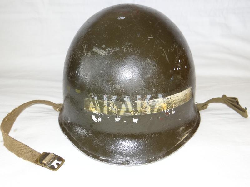 Casque M1 USMC Corée  Dsc04121