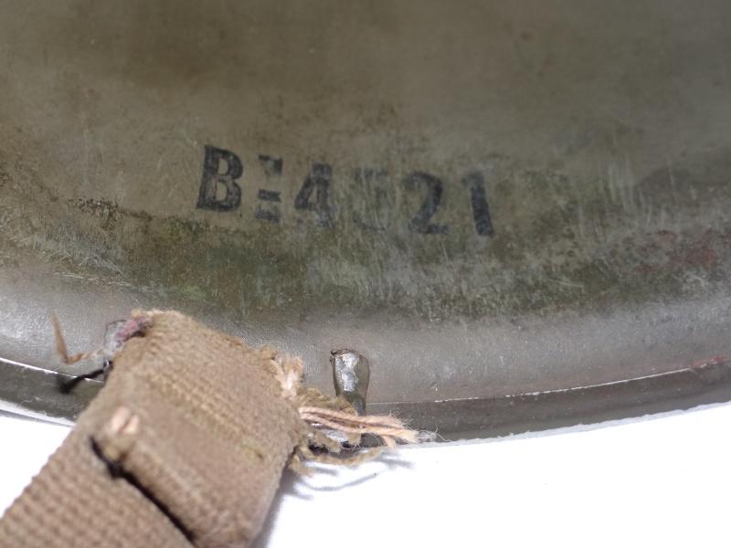 Casque M1 USMC Corée  Dsc04128
