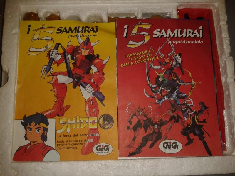 5 Samurai pugni d'acciaio 2013-015