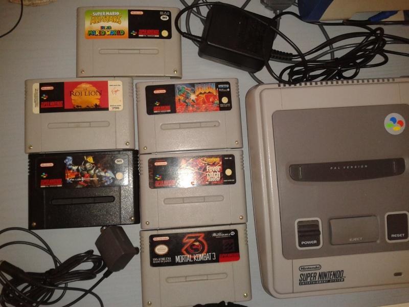 Vendo Super Nintendo snes + 1 joypad + 1 joystik modello arcade + 6 cassette; prezzo affare!!! 2013-018