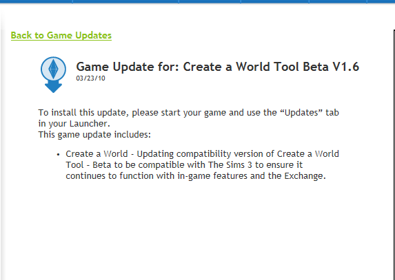Download link for the Create-A-World tool. Screen11