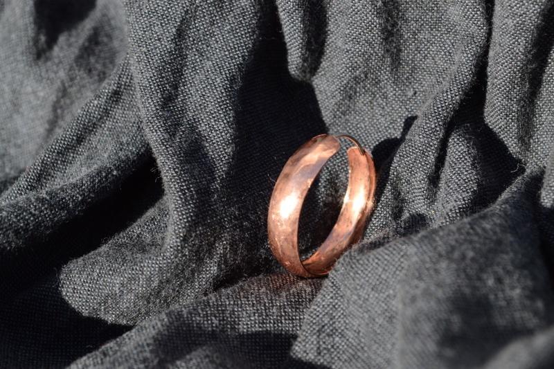 Boucles d'oreilles en cuivre Bo_cui10