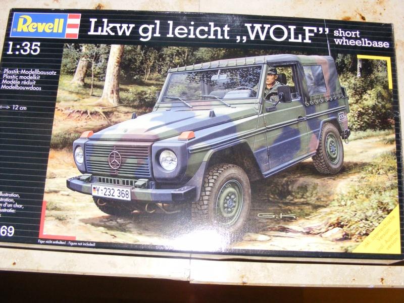 """Lkw gl Leicht """" WOLF"""" ( kurzer Radstand) Revell 1:35 Dscf0937"""