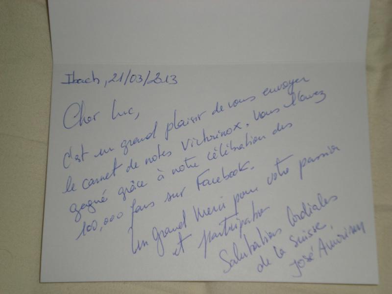 Un beau cadeaux de chez Victorinox  Dscn6915