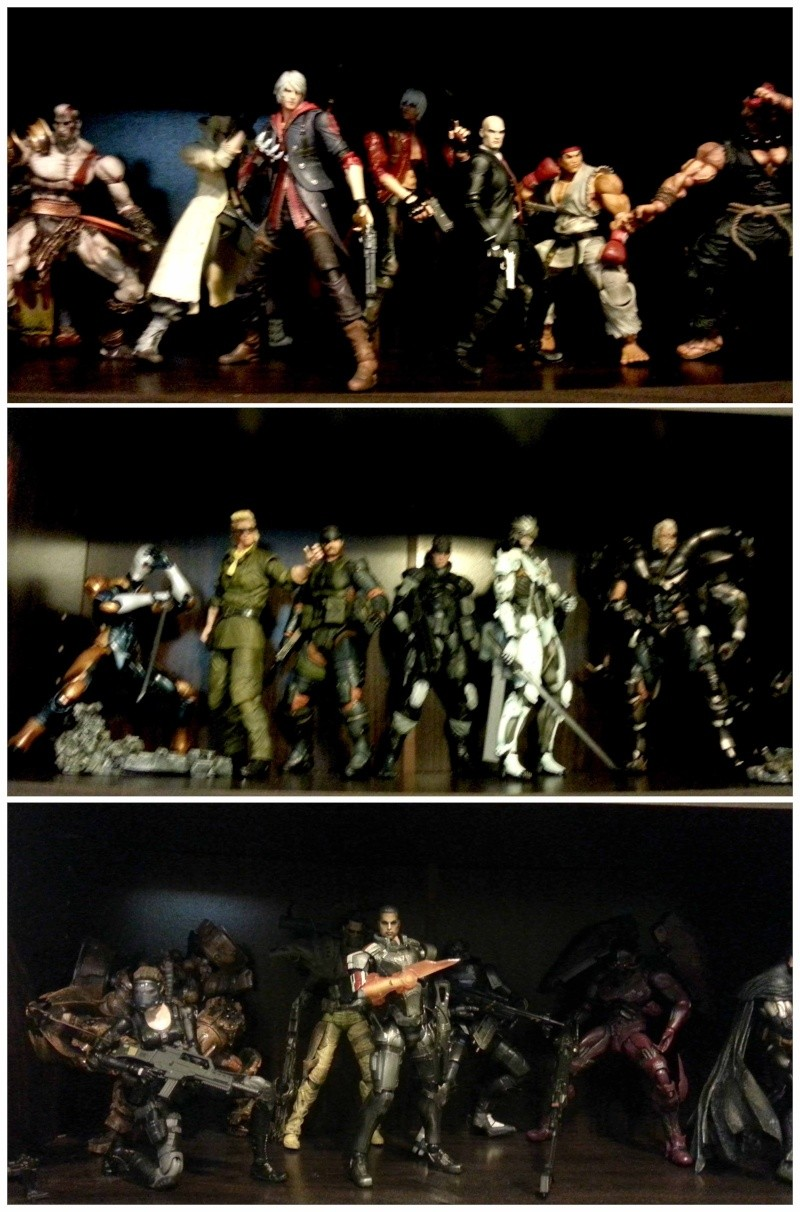 Selling my Play Arts Kai Collection 18 figures + a couple of custom PAK (BRISBANE) Forsal12