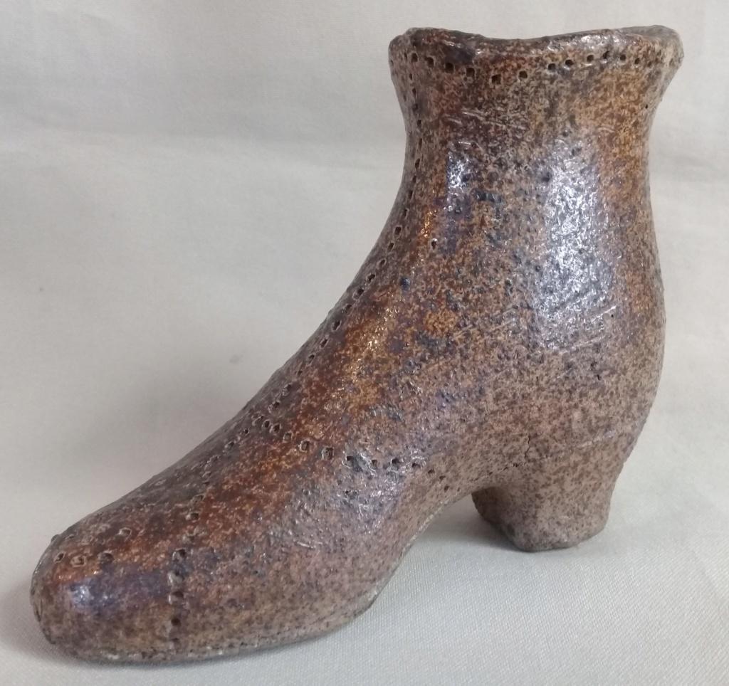 An old salt glazed boot courtesy of Manos. 20191012