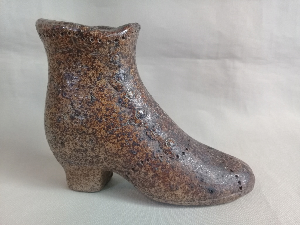 An old salt glazed boot courtesy of Manos. 20191014