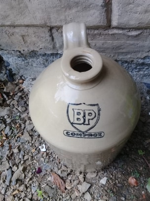 Timaru Potteries BP demijohn 87360910
