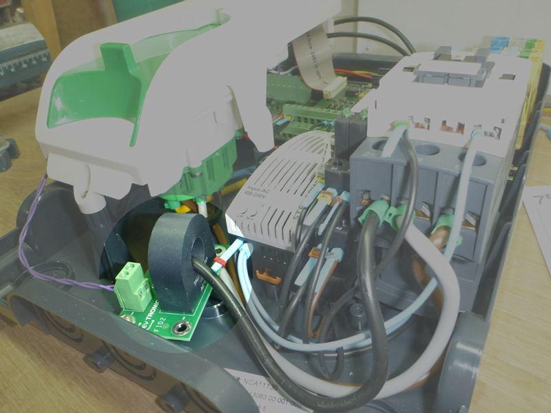 Pré-tuto : passer une borne Schneider EV Link NCA11130 en 11 kw triphasé Borne_16