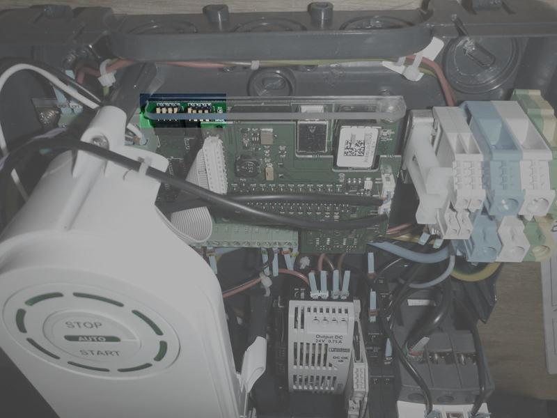 Pré-tuto : passer une borne Schneider EV Link NCA11130 en 11 kw triphasé Borne_17