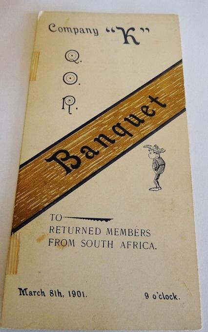 Q.O.R. of Canada - Boer War Welcome Home Medal Fuller13