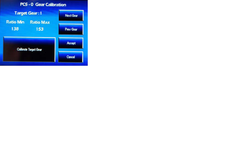 Advance PCV configuration - Gear advance , temp analog input  Gear11