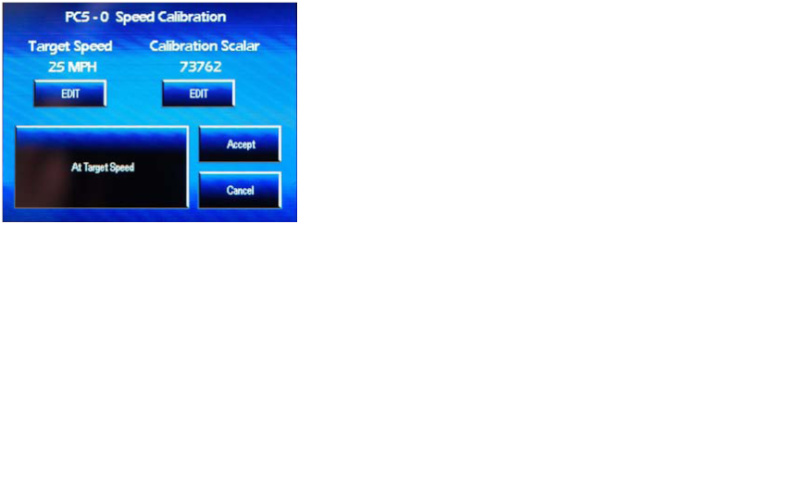 Advance PCV configuration - Gear advance , temp analog input  Speed11