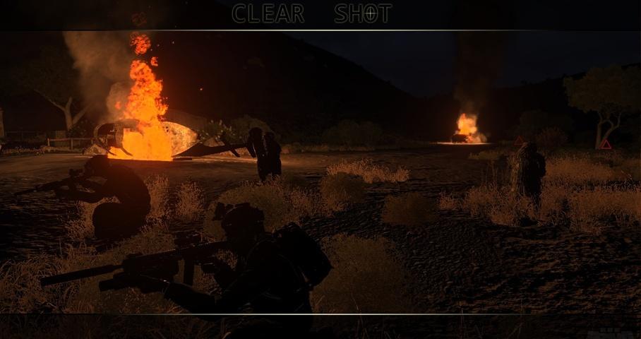 Clear Shot - samostatná mise Cs0110
