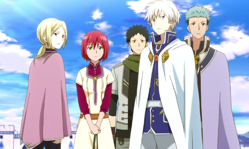 Shirayuki aux cheveux rouges (Akagami no Shirayuki-hime) Akagam12