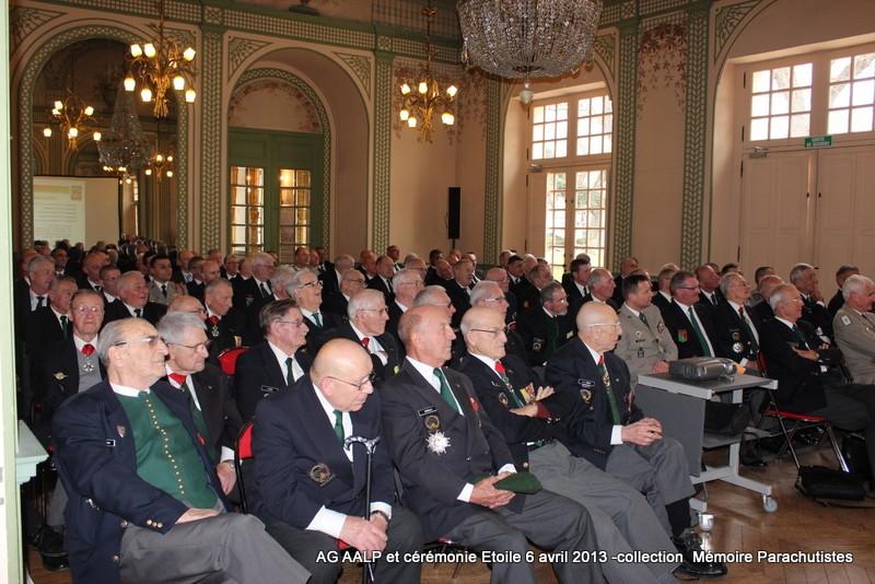 AG de l'AALP - Amicale des Anciens Légionnaires Parachutistes -INVALIDES - ETOILE Img_6813