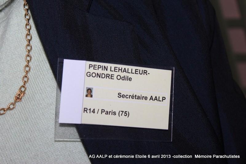 AG de l'AALP - Amicale des Anciens Légionnaires Parachutistes -INVALIDES - ETOILE Img_6818
