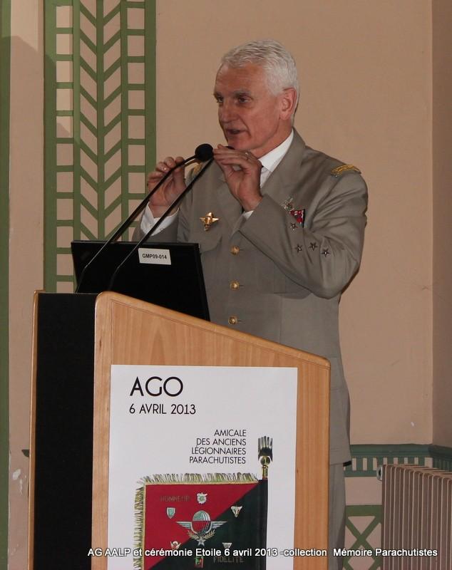 AG de l'AALP - Amicale des Anciens Légionnaires Parachutistes -INVALIDES - ETOILE Img_6821