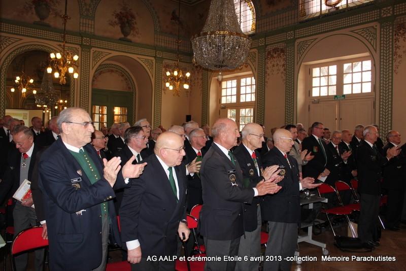 AG de l'AALP - Amicale des Anciens Légionnaires Parachutistes -INVALIDES - ETOILE Img_6825