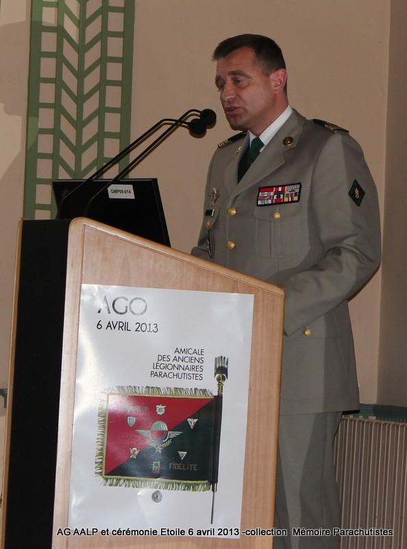AG de l'AALP - Amicale des Anciens Légionnaires Parachutistes -INVALIDES - ETOILE Img_6826