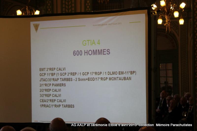 AG de l'AALP - Amicale des Anciens Légionnaires Parachutistes -INVALIDES - ETOILE Img_6828