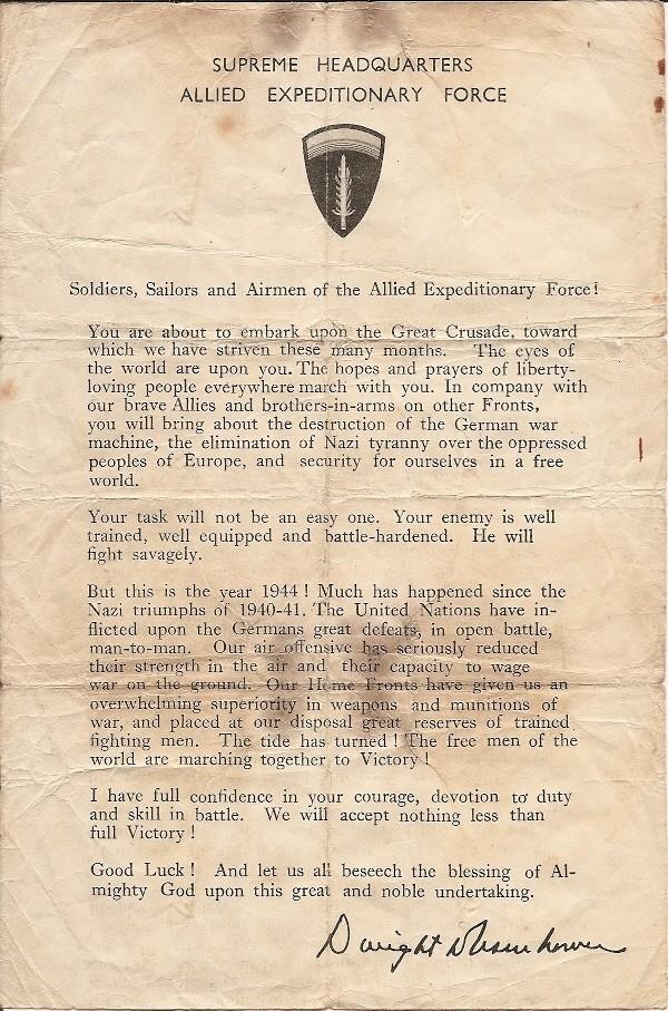 lettre invasion du 6 juin D_day10