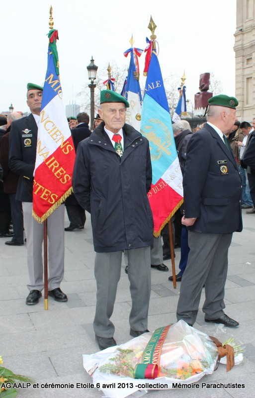 AG de l'AALP - Amicale des Anciens Légionnaires Parachutistes -INVALIDES - ETOILE Img_6810