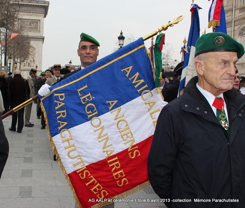 AG de l'AALP - Amicale des Anciens Légionnaires Parachutistes -INVALIDES - ETOILE Img_6811