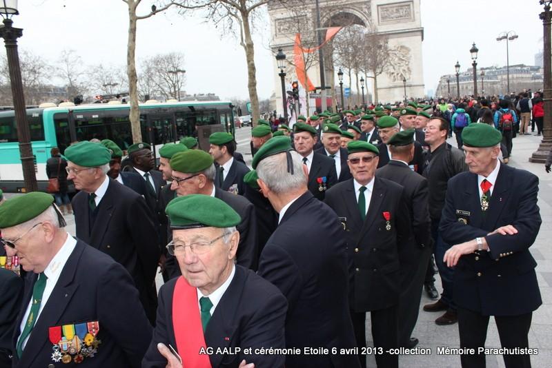 AG de l'AALP - Amicale des Anciens Légionnaires Parachutistes -INVALIDES - ETOILE Img_6814